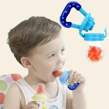 Portable Fresh Fruit Food Milk Kids Nipple Feeding Safe Baby Pacifier Bottles