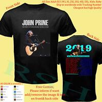 JOHN PRINE TOUR 2019 Concert Album Shirt Size S-5XL Youth Infants