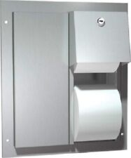 ASI Dual Access Toilet Paper Dispenser # 0032 Stainless Steel