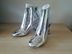 SIREN Metalic Heeled Boots