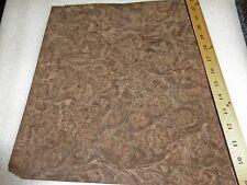 "Walnut Burl wood veneer 12"" x 14"" raw no backer 1/42"" thick ""AAA"" quality grade"