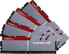 G.Skill Trident Z 32GB 4X8GB Quad Channel DDR4 3200MHz PC4-25600 DIMM Desktop