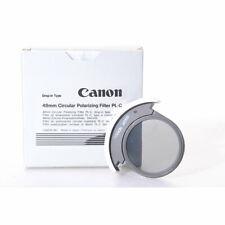 Canon 48mm Circular Polarizing Filter PL-C / Polfilter Zirkular Einsteckfilter