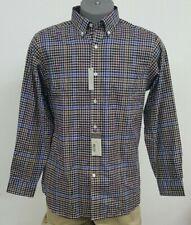 Daniel Cremieux Signature Multi-Colored Checked L/S Men's Shirt L NWT $89.50