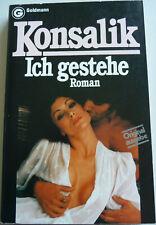 Konsalik, Ich gestehe, Roman, Liebe, Erotik, Frauen, Ärzte, Klinik, Leidenschaft