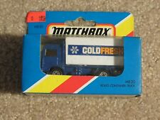 Matchbox Die-cast MB20 Volvo Container Truck Cold Fresh 1981 MISB