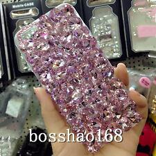 3D hard Case Cover Handmade Luxury Bling Jewelled Rhinestone Diamond Crystal d