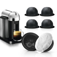Reusable Espresso Capsules Coffee Pod Cup Kit Set For Nespresso Vertuo Machine