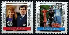 Seychelles 1986 SG#651-2 Royal Wedding MNH Set #D66979