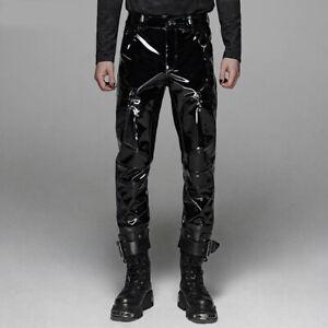 Punk Rave Gothic Lack Hose - Mesmeriser Nieten
