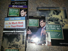 Lot of 4 Richard Lavoie DVDs How Difficult Can This Be?. plus 2 guide  books