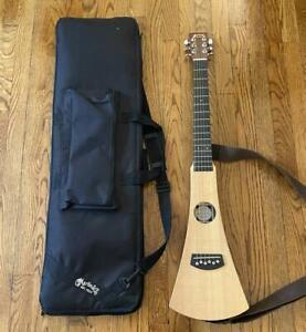 Estate Fresh C. F. Martin & Co Backpacker Guitar W/ Case & Strap Super Clean