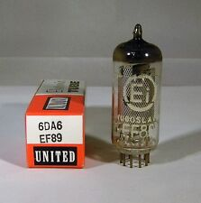 6DA6 EF89 Mesh Plate EI Vacuum Tube NOS NIB Tested Strong (More Available)