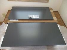 "HON 38000 Series Hutch H38248 Flipper Doors 33"" wide x 16"" high Charcoal Metro"
