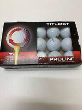 15 Titleist Velocity golf balls recycled Grade AAAAA  LOT 9O011