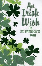An Irish Wish On St Patrick's Day Card Quality Greetings Cards