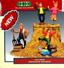 Lemax Village Collection haystack Holiday #33404A New