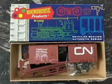 Roundhouse 1/87 Ho Canadian National M Of W 40' Box Car Rd #71269 # 1-143 Nib