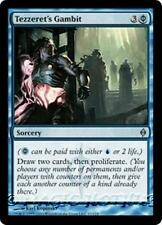 TEZZERET'S GAMBIT New Phyrexia MTG Blue Sorcery Unc