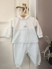 Baby & Toddler Clothing Ted Baker All In One Sleepsuit Grey Striped Romper Baby Boy 3-6 Months Vgc Modern Design
