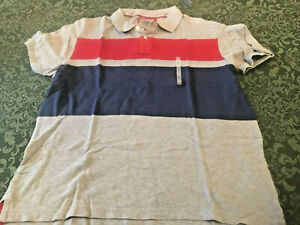 NWT old navy XL mens vintage style polo rugby preppy shirt fathers day striped