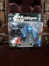 MUPPETS Star Wars Figure Gonzo Darth Vader set NIB