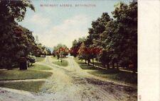 pre-1907 MONUMENT AVENUE, BENNINGTON - tree-lined dirt road - Vermont
