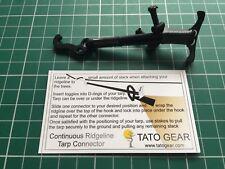 TATO Gear Continuous Ridgeline Tarp Connector (single) Hammock, Bushcraft