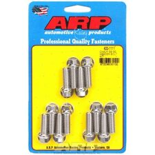 ARP Bolts 400-1111 Small Block Chevy Stainless Steel hex header bolt kit