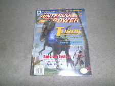 Nintendo Power Magazine Turok Dinosaur Hunter Vol 94 Mar 1997 Poster Mario Kart