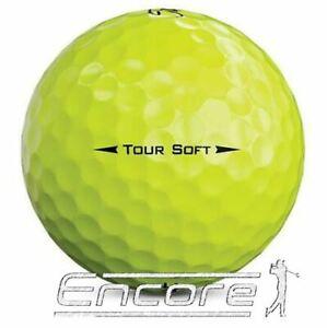 20 Titleist Tour Soft Yellow Golf Balls Pearl / A Grade Golf Balls