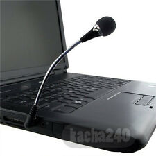 Phone 3.5mm Studio Computer For Laptop PC Black Plug Mic Microphone Mini