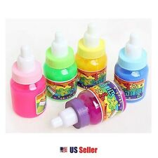 Baby Bottle Liquid Jelly Toy Soft Squeeze Squishy Jelly Pudding Toy 2pcs Random