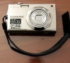 """Nikon Coolpix S4000 12 Mp, 3"""" Touch Screen Lcd, sold with Sd Memory & Battery"""