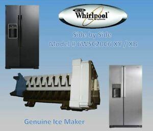 GENUINE ICE MAKER WHIRLPOOL REFRIGERATOR 6WSC20C6YB AU FREE & SAME DAY SHIPPING