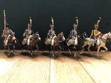 Lucotte: The 5th Hussars. Raro Muy Temprano Juego Pre Guerra c1900