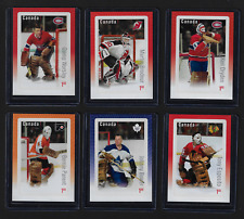 Canada — 2016, Cards NHL Set — Hockey Great Canadian Goalies #2873@2878 — MNH