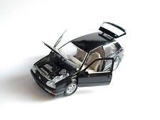 VW Golf 3 Mk III VR6 schwarz nero noir black, Schabak 1:43 DEALER box defekt!