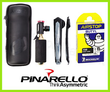 Kit Pinarello Portatutto, Leva Gomme, Bomboletta con Regolatore Co2 e Camera