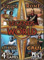 Legends Of The World PC Games Windows 10 8 7 XP Computer gem match three 3 NEW