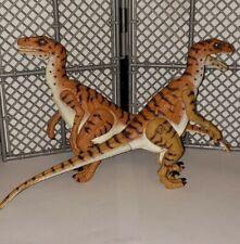 1997 Hasbro Jurassic Park Velociraptor Snapping Dinosaur Raptor Figure Jp18 Lot
