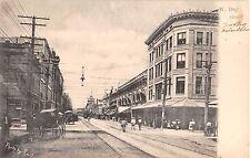 c.1905 Stores W. Bay St. Jacksonville FL post card