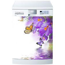 Magnete lavastoviglie Fiore Farfalla 60x60cm ref 5530 5530