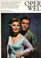 OPERN WELT - Heft 10 1966 - Die Deutsche Opernzeitschrift -  B17522