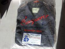 Royal Crest Tropical Uniform Shirt by Conqueror Dark Blue (B2739)