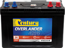 CENTURY N70ZZLHD MF OVERLANDER 4X4 BATTERY24 MONTHS NATIONWIDE WARRANTY DUAL PUR