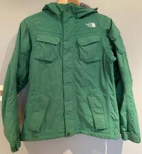 North Face Women's Green Ski Jacket Coat Size Small