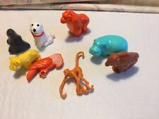 VINTAGE FISHER PRICE LITTLE PEOPLE ZOO PLAYSET #916 COMPLETE ANIMAL LOT