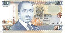 Kenya 20 Shilingi 1995 Unc pn 32