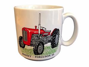BN Massey Ferguson 35 Tractor Mug, Large Stoneware Mug, Tractor Gift Mug
